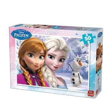 Disney Frozen puzzel - 50 stukjes