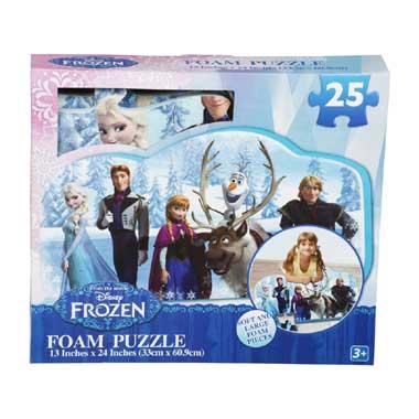 Foam puzzel Disney Frozen 25 stukjes