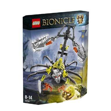 LEGO Bionicle Schedelschorpioen 70794