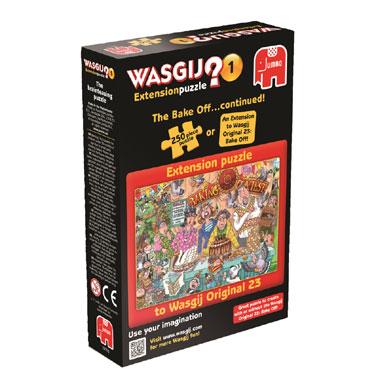 Jumbo Wasgij uitbreidingspakket De bakwedstrijd...vervolg! - 250 stukjes