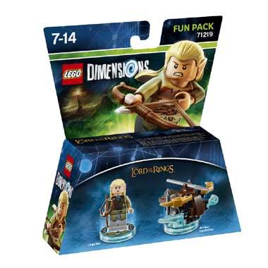 LEGO Dimensions LOTR Legolas Fun Pack