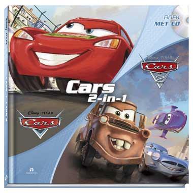 Disney Cars 1 en 2 lees- & luisterboek
