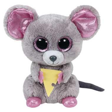 Ty Beanie Boo knuffel Squeaker - 15 cm