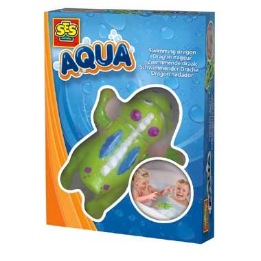 SES Creative Aqua zwemmende draak