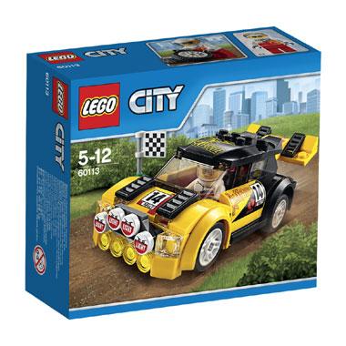 LEGO City rallyauto 60113