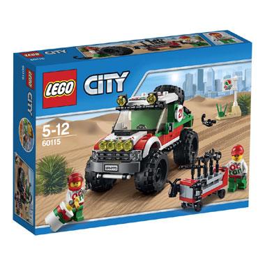 LEGO City 4 x 4 voertuig 60115