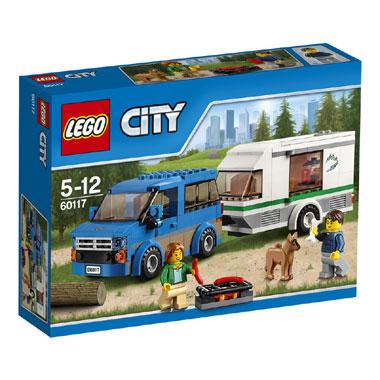 LEGO City busje & caravan 60117