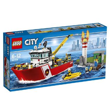 LEGO City brandweerboot 60109