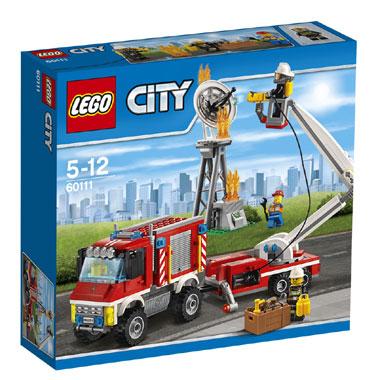 LEGO City brandweer hulpvoertuig 60111