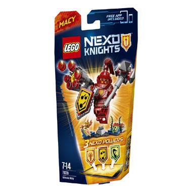 LEGO Nexo Knights Ultimate Macy 70331
