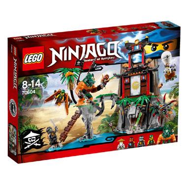 LEGO Ninjago Tiger Widow eiland 70604