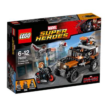 LEGO Super Heroes Crossbones' gifdiefstal 76050