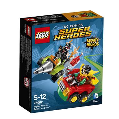 LEGO Super Heroes Mighty Micros: Robin vs Bane 76062