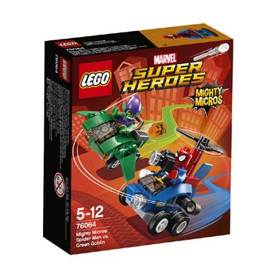 LEGO Super Heroes Mighty Micros: Spider-Man vs Green Goblin 76064