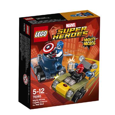 LEGO Super Heroes Mighty Micros: Captain America vs Red Skull 76065