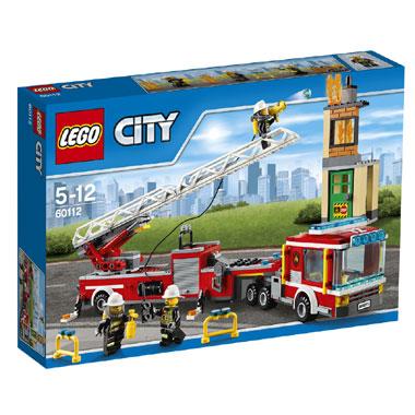 LEGO City brandweerwagen 60112