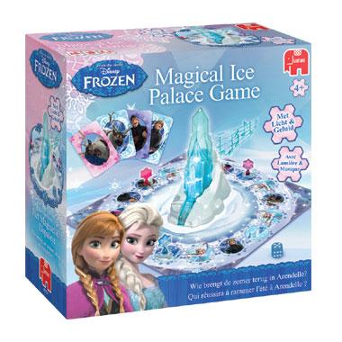 Jumbo Disney Frozen ijspaleis - spel