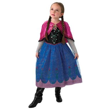Disney Frozen Anna jurk met muziek en licht - maat 128/140