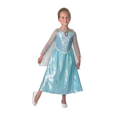 Disney Frozen Elsa jurk met muziek en licht - maat 128/140