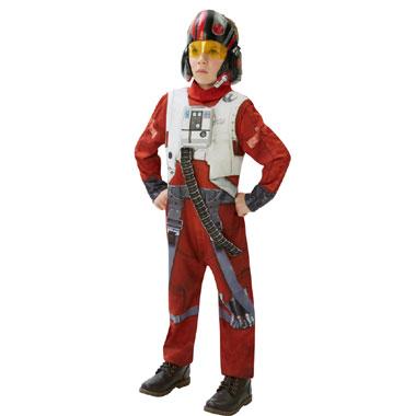 Star Wars X-Wing Fighter Deluxe kostuum - maat 128/140