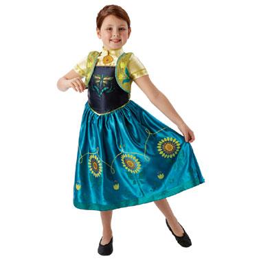 Disney Frozen Fever Anna jurkje deluxe - maat 128/140