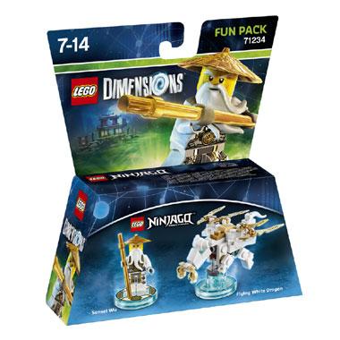 LEGO Dimensions Ninjago Sensei Wu Fun Pack 71234