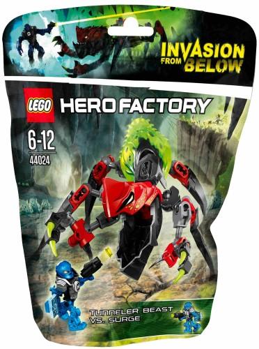 Lego Hero Factory Tunnelbeest vs Surge - 44024