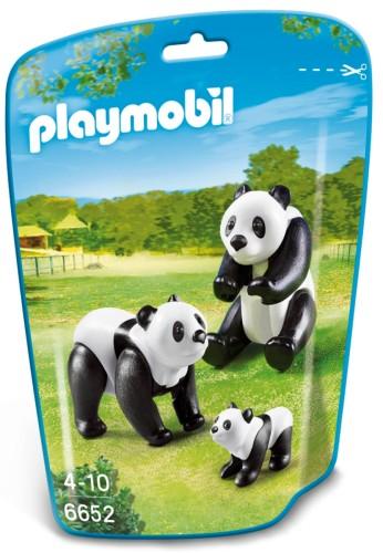 Playmobil Panda's met baby - 6652