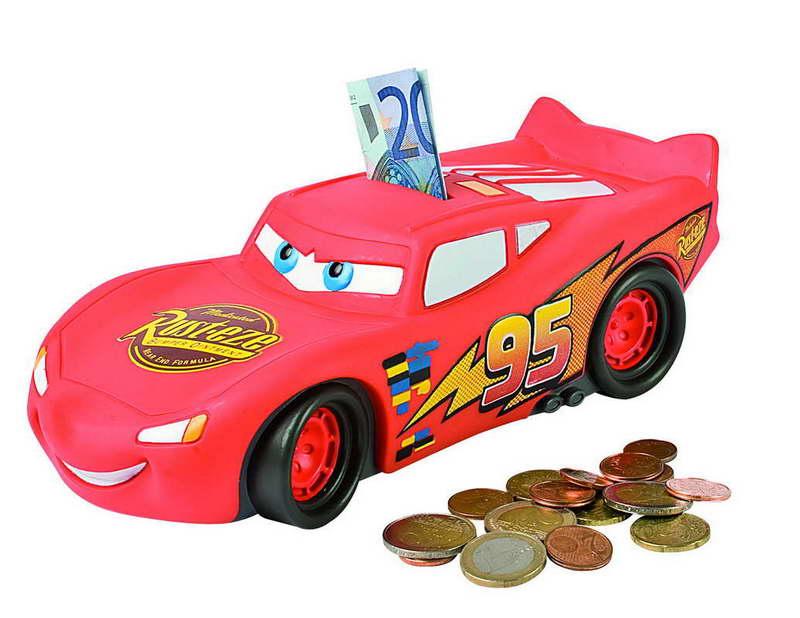 Cars Bliksem McQueen spaarpot