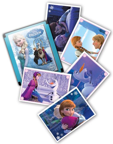 Panini blisterpack stickers Disney Frozen Speciale Momenten - 10 stuks