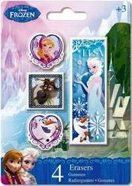 Disney Frozen gummen 4-delig