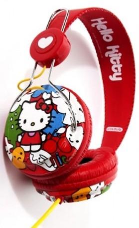 Hello Kitty hoofdtelefoon