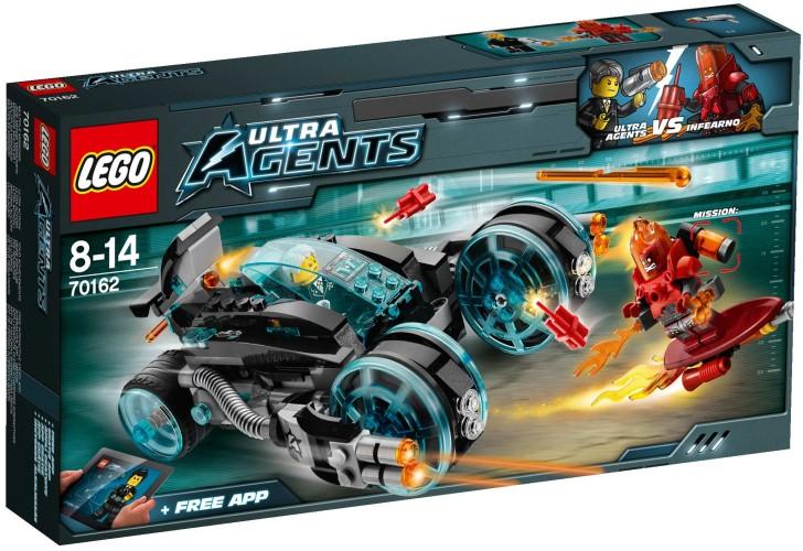 Lego Ultra Agents Infearno interceptie - 70162