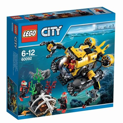 Lego City Diepzee duikboot - 60092