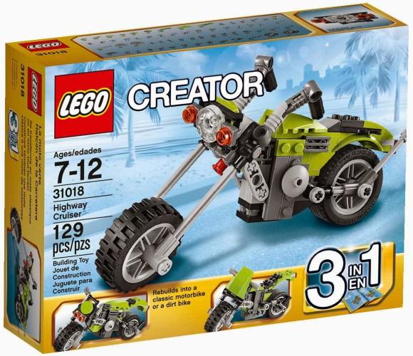 Lego Creator Highway cruiser - 31018