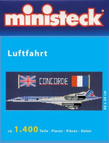 Ministeck Concorde vliegtuig