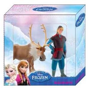 Disney Frozen miniaturen Sven en Kristoff