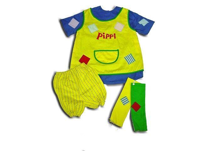 Pippi Langkous verkleedset 4 jaar