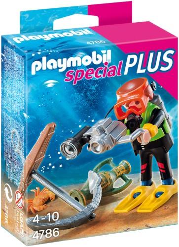 Playmobil diepzeeduiker met schat - 4786