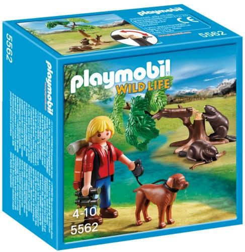 Playmobil Wild life Bevers met natuurwetenschapper - 5562