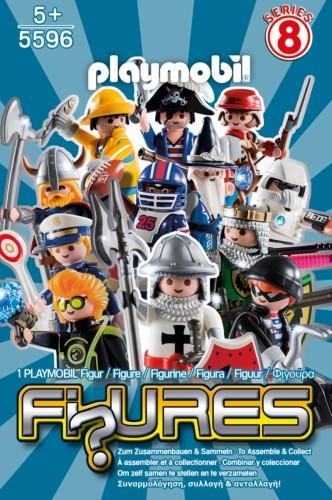 Playmobil figuur jongen serie 8 - 5596