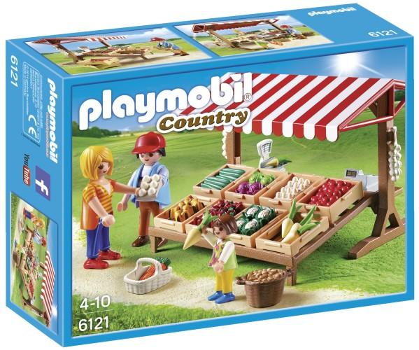Playmobil Country Groentekraam - 6121