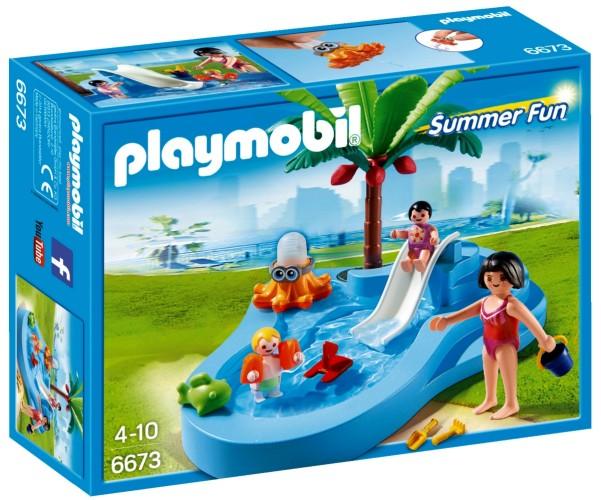 Playmobil Summer Fun Kinderbad met glijbaan - 6673
