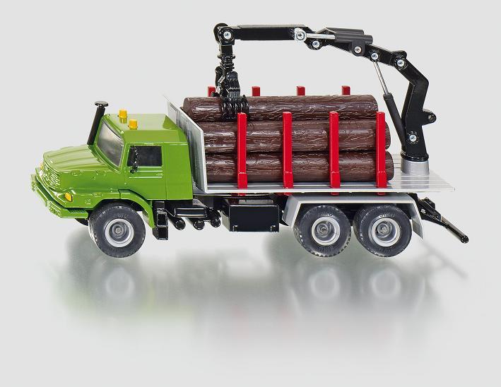 Siku vrachtwagen houttransport - 2714