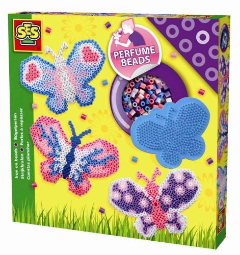 SES strijkkralen vlinders (geparfumeerd)