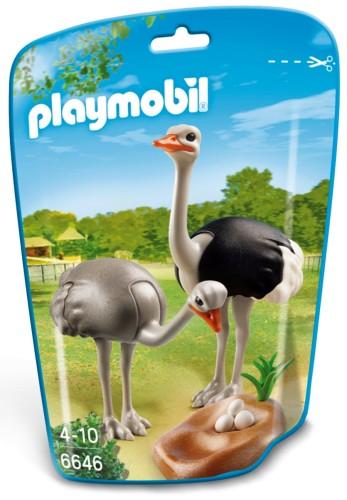 Playmobil Struisvogels met nest - 6646