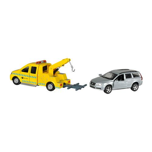 Takelwagen met Volvo