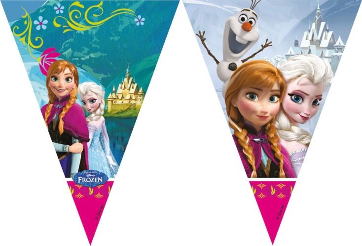 Disney Frozen vlaggenlijn - 2 meter