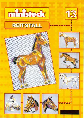 Ministeck voorbeeldenboek 13 - Paarden