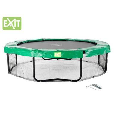 EXIT Trampoline Framenet Rond Zwart 366 cm